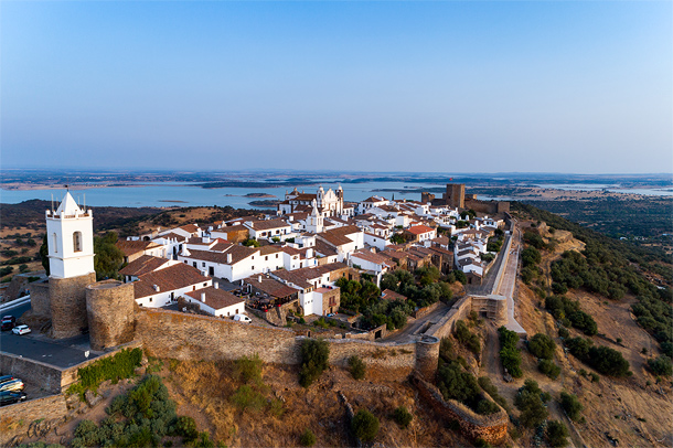 Monsaraz, vestingstadje in Alentejo, Portugal
