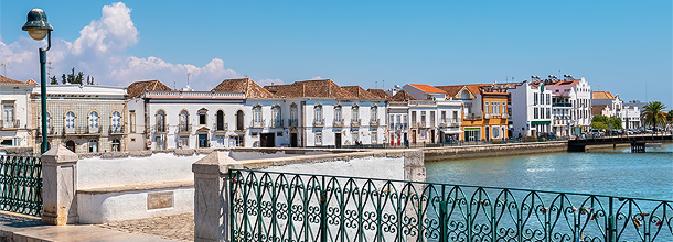 Tavira in Oost-Algarve