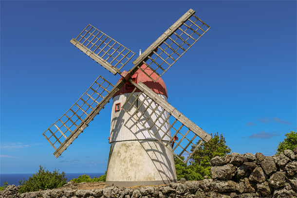 Windmolen op Graciosa