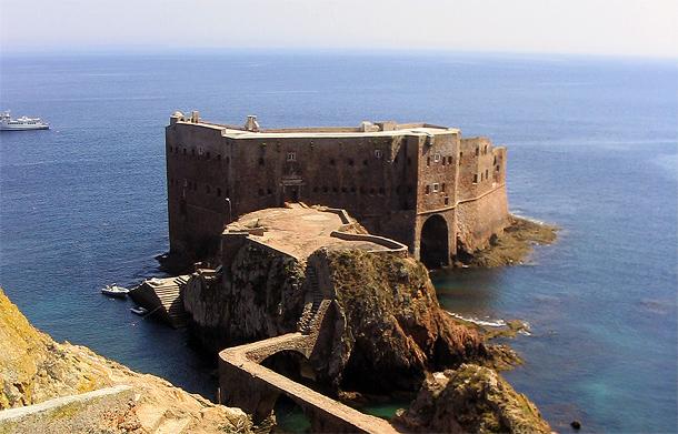 Fort São João Baptista op Berlenga-eiland