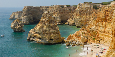 Strand in de Algarve