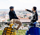 Vespa-tour door lissabon