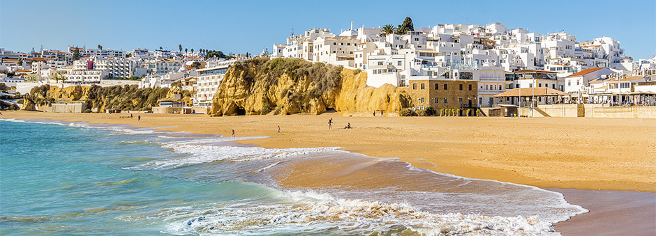 Albufeira in de winter