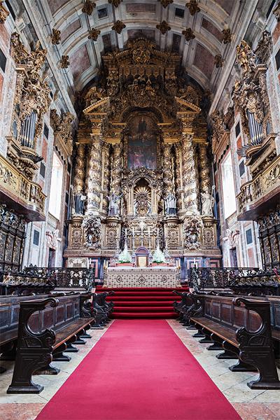 S do porto de kathedraal van porto portugal vakantie info - Interieur binnenkomst ...