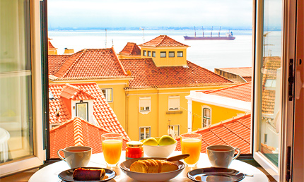 Bed and breakfast Lissabon